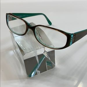 BCBGMaxAzria Eyeglass Frame Bronze/Green Full Rim